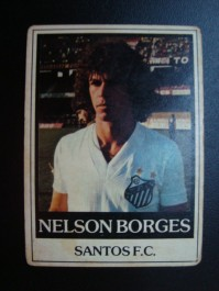 Futebol Cards Ping Pong Nº 097 - Nelson Borges Santos SP 2