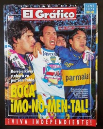 Revista Futebol El Grafico Argentina Boca Juniors 1994 Super