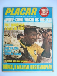 Revista Placar Nº 12 05/06/1970 Tabela Copa do Mundo 1970
