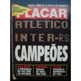 Revista Placar Nº 908 26/10/1987 Poster Atletico MG Inter RS 2